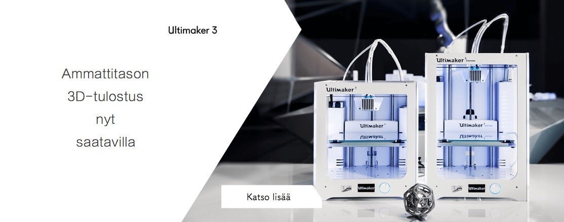 Uusi Ultimaker 3